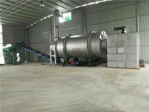 时产15吨河沙烘干机