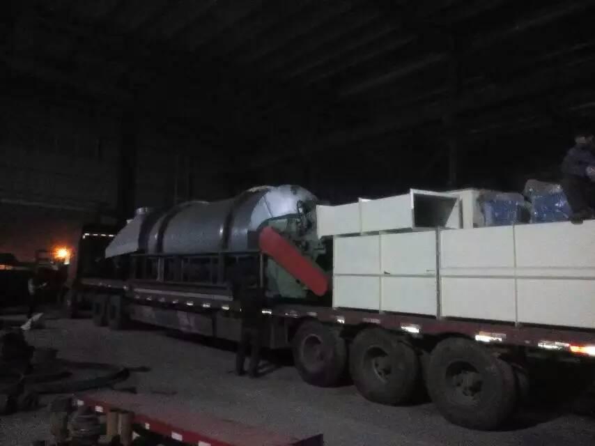 上海20吨沙子烘干机发货